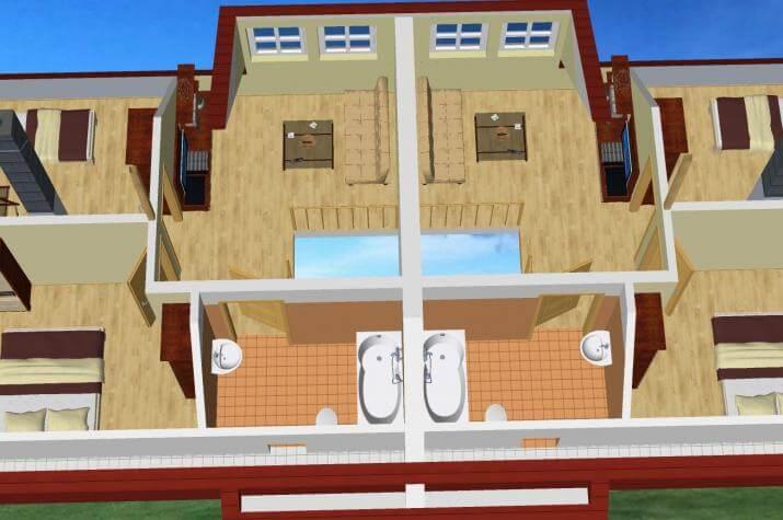 doppelhaus franz holz hv frank sch bel. Black Bedroom Furniture Sets. Home Design Ideas