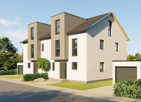 ᐅ Doppelhaus Bauen 90 Doppelhauser Mit Grundrissen Und Preisen