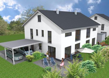 Gut gemocht ᐅ Doppelhaus bauen | 89 Doppelhäuser mit Grundrissen und Preisen AQ75