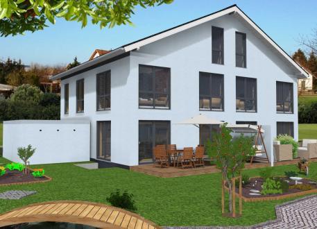 ᐅ Doppelhaus Bauen 91 Doppelhäuser Mit Grundrissen Und Preisen