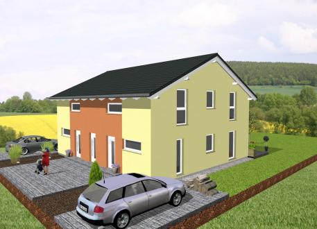 Zweifamilienhaus Doppelhausähnliches Zweifamilienhaus - www.jk-traumhaus.de
