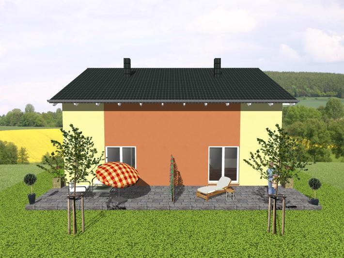 Zweifamilienhaus zweimal wohnen auf kompakter fl che for Zweifamilienhaus bilder