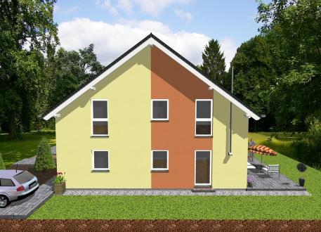 Zweifamilienhaus Doppelhausähnliches Zweifamilienhaus-www.jk-traumhaus.de
