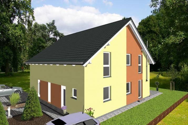 kompaktes einfamilienhaus f r citygrundst ck jk traumhaus. Black Bedroom Furniture Sets. Home Design Ideas