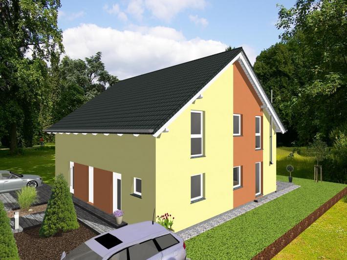 Kompaktes einfamilienhaus f r citygrundst ck jk traumhaus for Zweifamilienhaus bilder