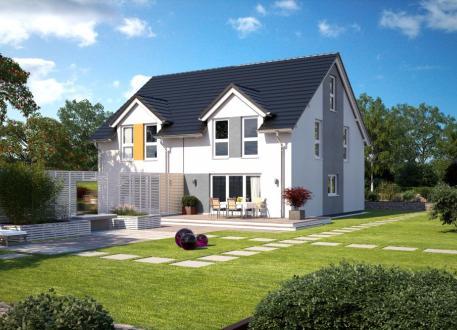 Niedrigenergiehaus Doppelhaushälfte - Klassik - schlüsselfertig