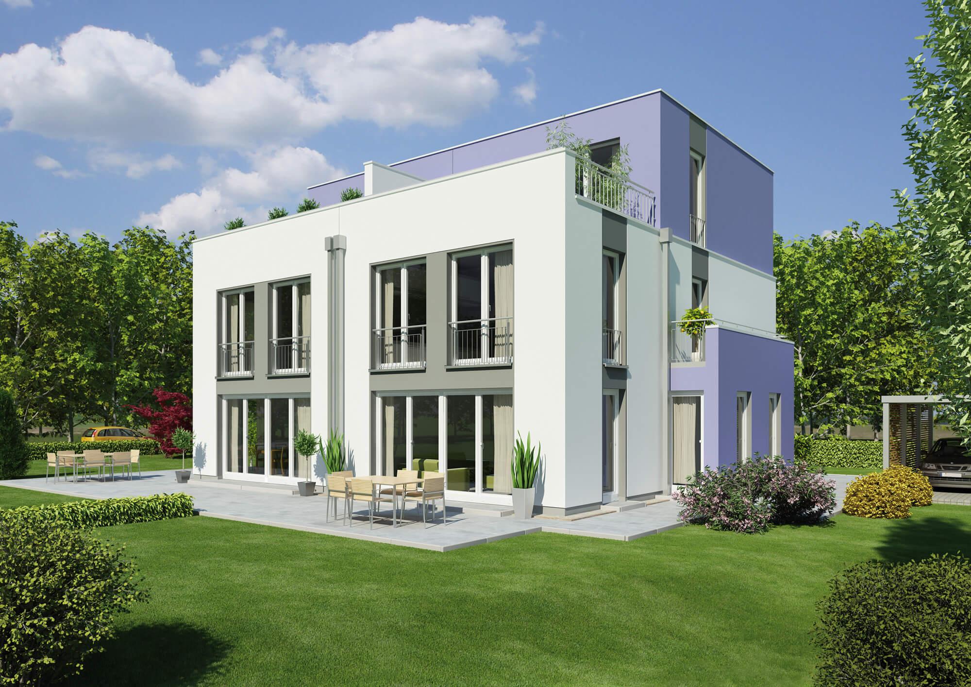 ᐅ Zweifamilienhaus bauen | 132 Zweifamilienhäuser mit Grundriss und ...