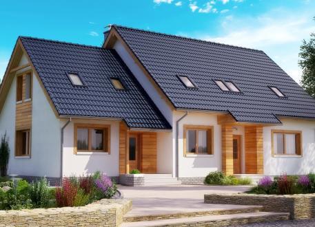 Zweifamilienhaus EASY EFH mit Einliegerwohnung 180