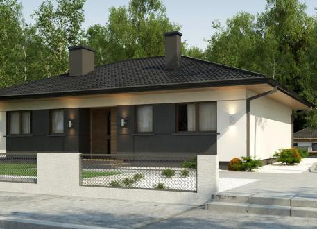 Bungalow mit Walmdach EASY Home 101