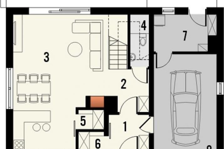 EASY Home 115 mit Garage -