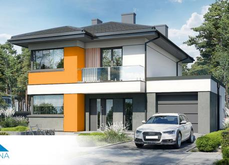 Stadthaus EASY Home 134 mit Garage