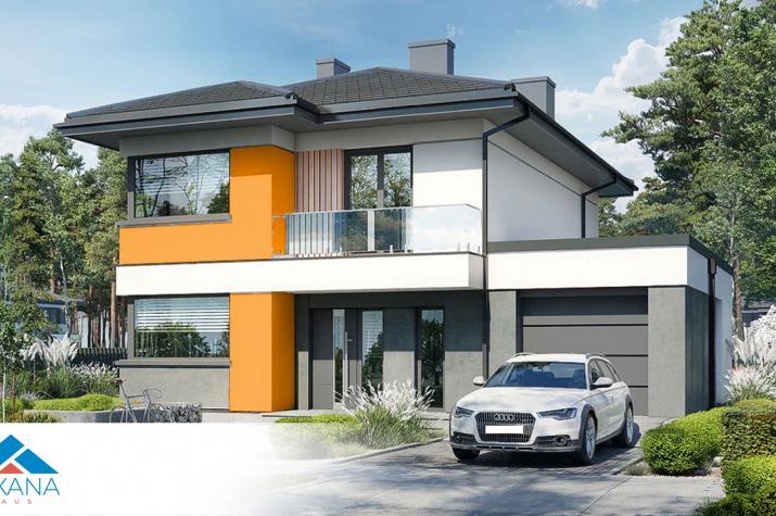 EASY Home 134 mit Garage -