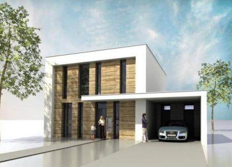 Stadtvilla mit seitlicher garage  ᐅ Einfamilienhaus bauen | 923 Einfamilienhäuser mit Grundrissen u ...
