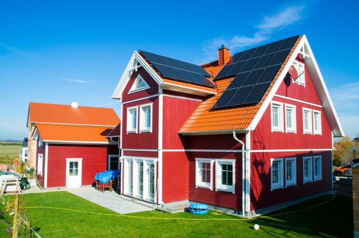 Ein Schwedenhaus für eine große Familie - Hausansicht