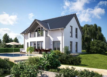 Niedrigenergiehaus Einfamilienhaus - Landhaus - Satteldach - schlüsselfertig