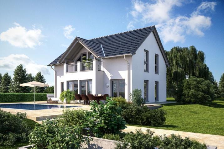 Einfamilienhaus - Landhaus - Satteldach - schlüsselfertig  - Einfamilienhaus Klassisch 149  Gestaltungsbeispiel