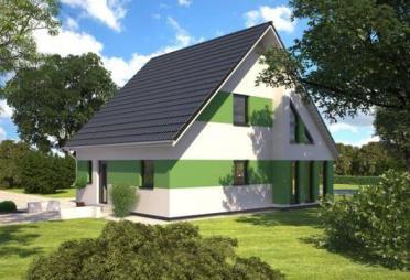 niedrigenergiehaus bis euro bis 150 m fertighaus. Black Bedroom Furniture Sets. Home Design Ideas