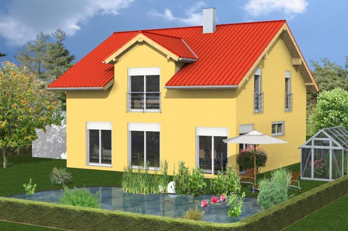 Einfamilienhaus Kahl am Main - Gartenansicht
