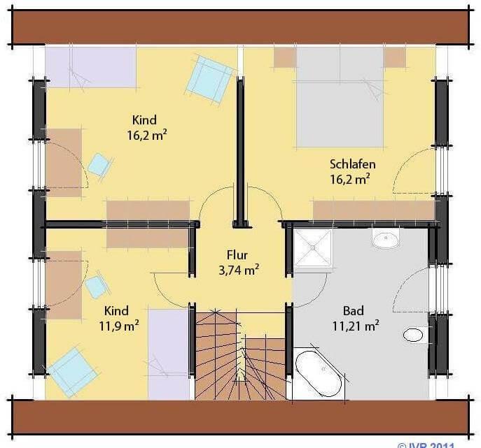 Einfamilienhaus arthausbau for Optimaler grundriss einfamilienhaus