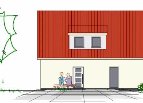 Einfamilienhaus mit 3 Kinderzimmern und Büro