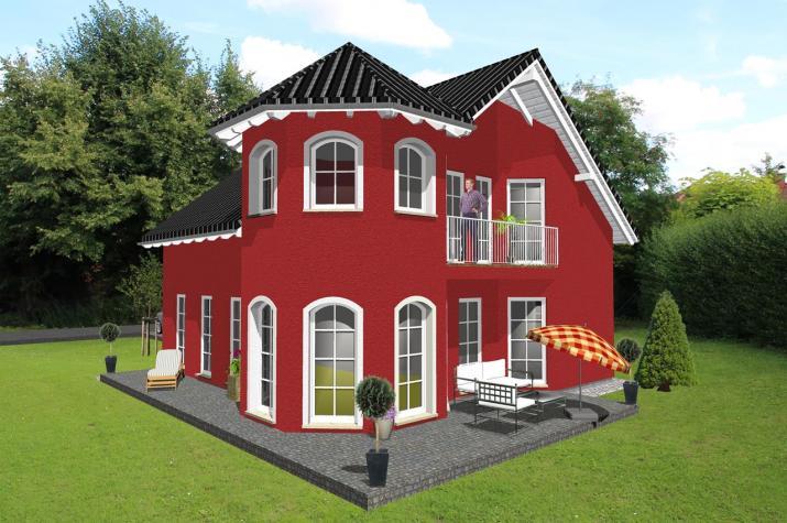 Jk Traumhaus ᐅ einfamilienhaus mit romantischem türmchen jk traumhaus de