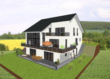 über 350.000 € Einfamilienhaus mit zwei Einliegerwohnungen- www.jk-traumhaus.de