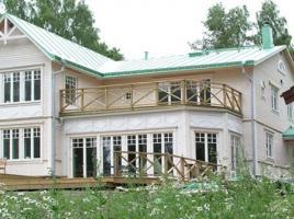 Exclusives Schwedenhaus Großhandlarvillan