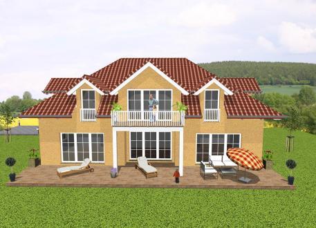 luxush user bauen mit grundriss und baukosten seite 3. Black Bedroom Furniture Sets. Home Design Ideas