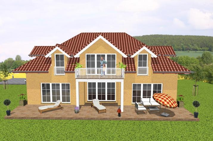 Jk Traumhaus ᐅ exklusives einfamilienhaus mit imposanter dachgestaltung jk