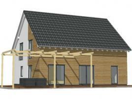 FAMILIENHAUS in wohngesunder Holzverbundbauweise mit 4 Schlafräumen