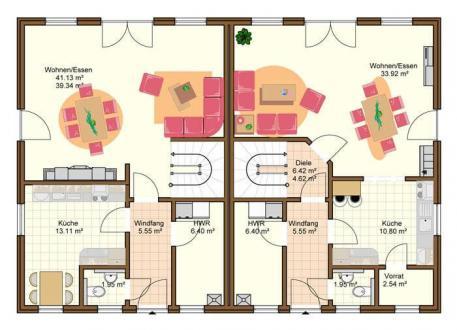 Einfamilienhaus mit kleiner einliegerwohnung grundriss  ᐅ Einfamilienhaus mit Einliegerwohnung bauen Seite 12