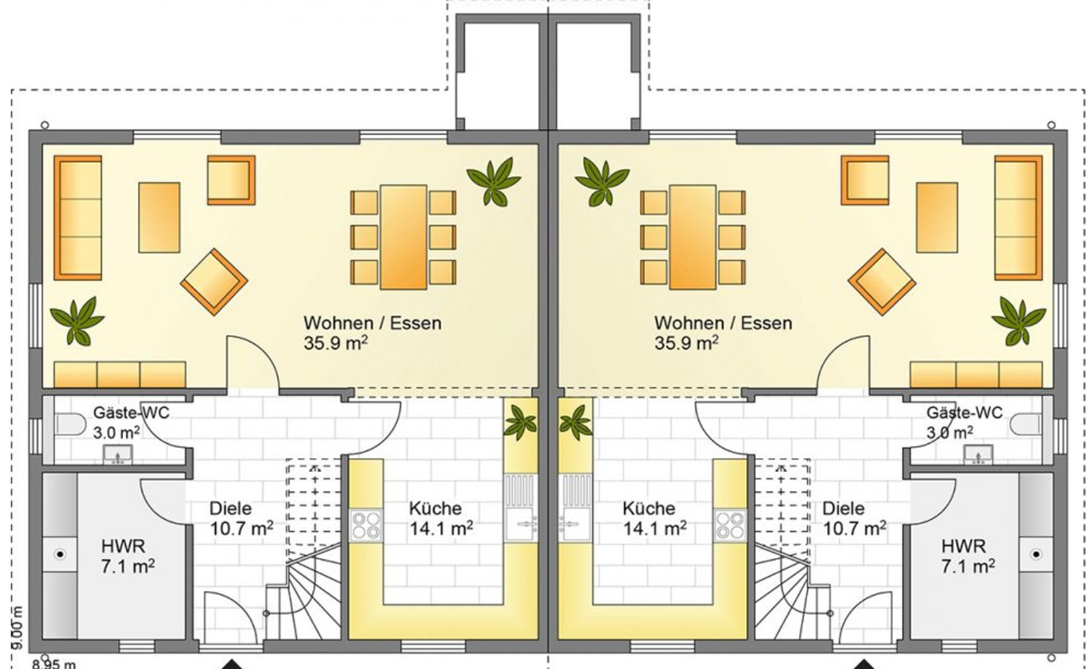 Family doppelhaus holminghaus gmbh for Doppelhaus oder zweifamilienhaus