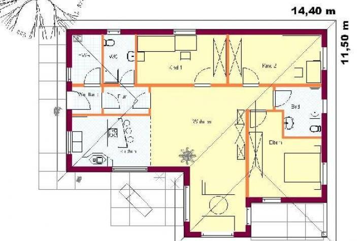friedersdorf bimssteinhaus. Black Bedroom Furniture Sets. Home Design Ideas