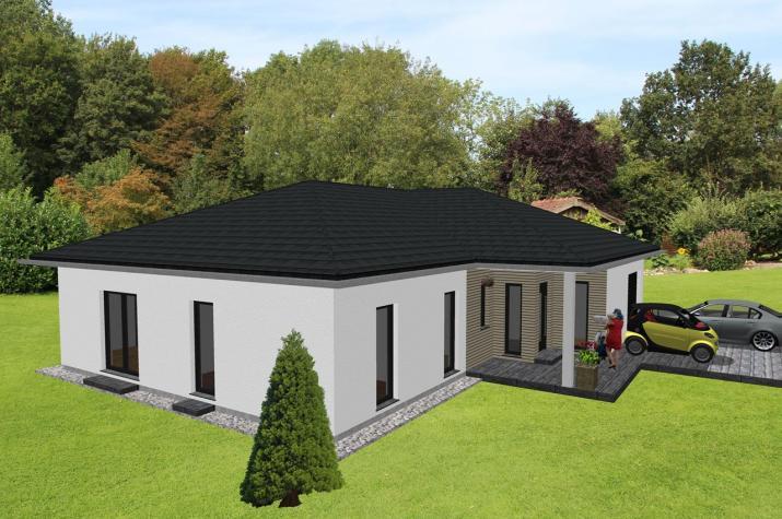 gro z giger winkelbungalow mit integrierter garage jk traumhaus. Black Bedroom Furniture Sets. Home Design Ideas