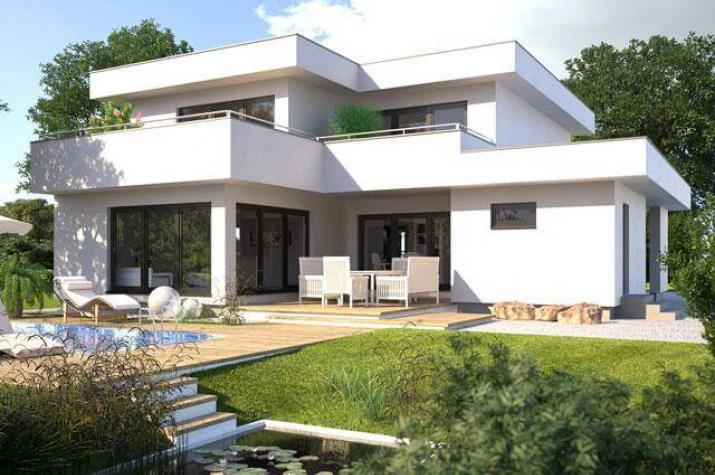 Hanlo Bauhaus - Hommage 246 - Hommage 246 Gartenansicht