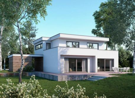 Villa o luxushaus bauen luxush user ab for Villa modern bauen