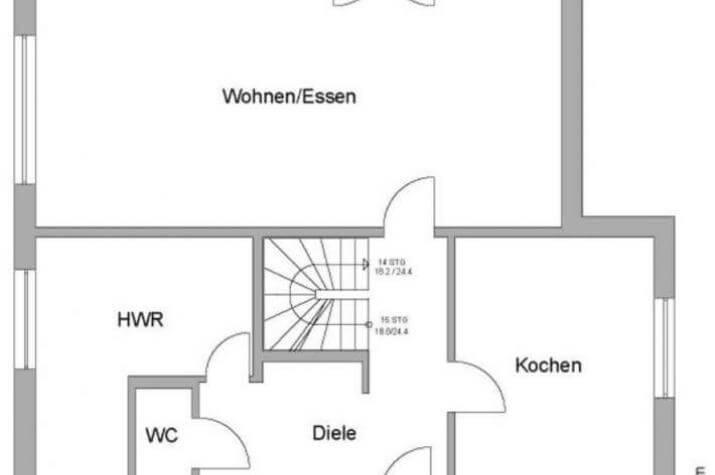 Haus Hamburg - EG