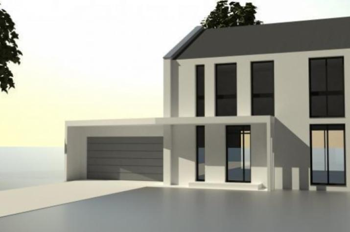 Haus SD2 - Ein Niedrigenergiehaus in moderner Architektur