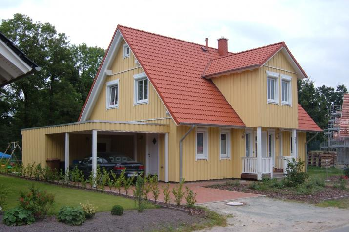 Haus Stuhr - Eingangsansicht.
