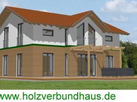 Haus Traunstein - mit kombinierter Holz-Putzfassade