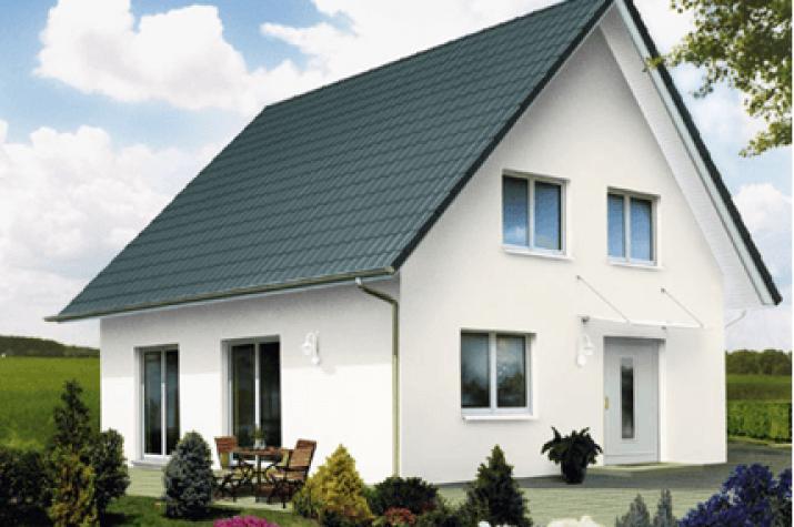 Perfekt Links Haus Weiß Grau   Günstiger Fertighaus: Weiß Graun ...