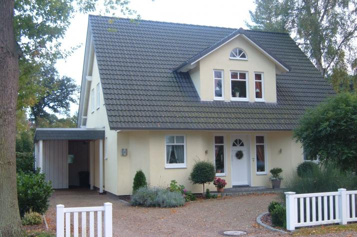 Haus Worpswede - Eingangsansicht.