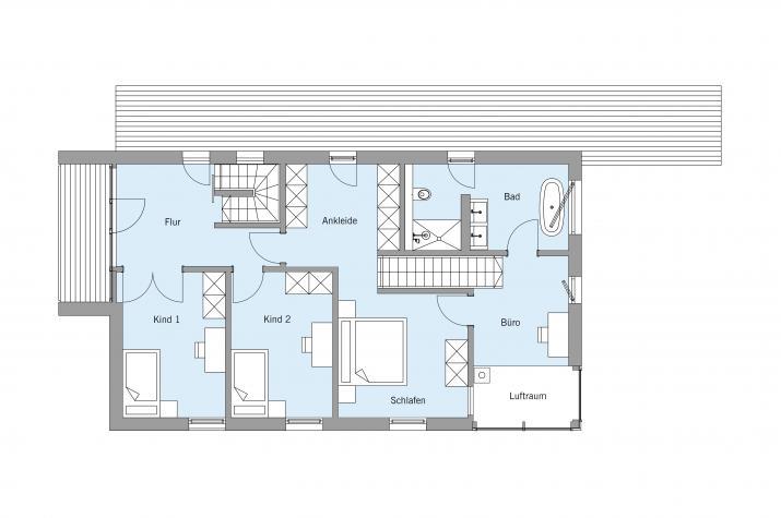 Haus am Wald - Dachgeschoss