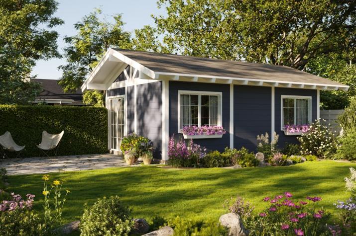 Holzständerhaus 36 - Kaufpreis 8.533.-- € - - Ansicht