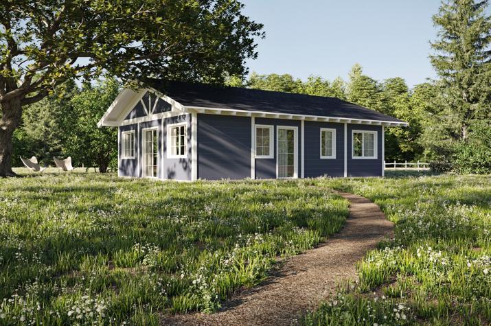 Holzständerhaus 82 Kaufpreis - 12.838.-- €  - Ansicht