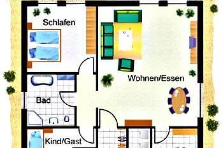 IQ-Haus 98/WE - grundriss eg