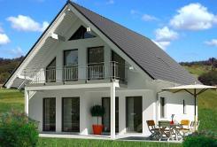 Haus Josephine - klassisches Einfamilienhaus der Firma MB-Massivhaus
