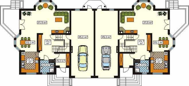 Grundriss selber planen simple modern kchen grundriss for Zweifamilienhaus modern grundriss