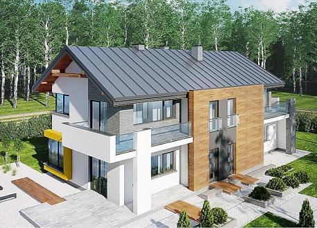 Holzhaus KD 54