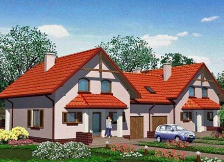 reihenhaus bauen 9 doppelh user mit grundrissen und. Black Bedroom Furniture Sets. Home Design Ideas